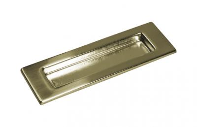 Ручка-купе для раздвижных дверей прямоугольная