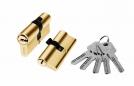 Цилиндр алюминий 70мм (ключ-ключ), 5 ключей
